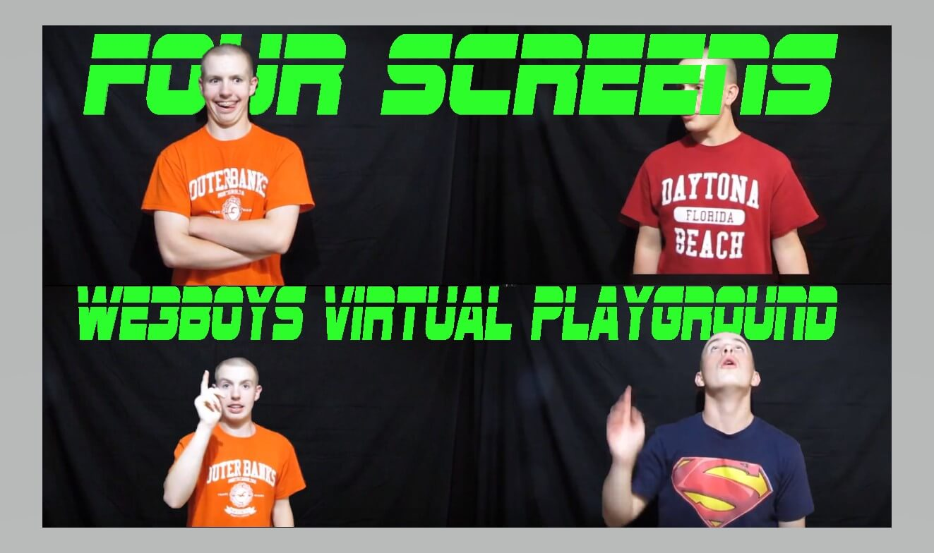Virtual Playground 1 - Jumping Through Screens